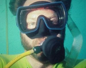 Submerged Selfie